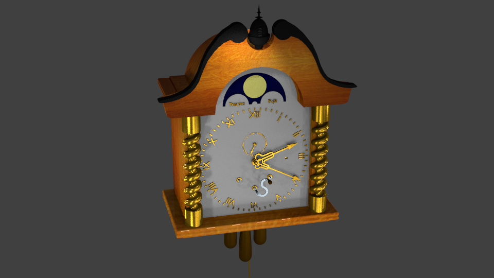 Automating my Clock Mechanism - Animation and Rigging