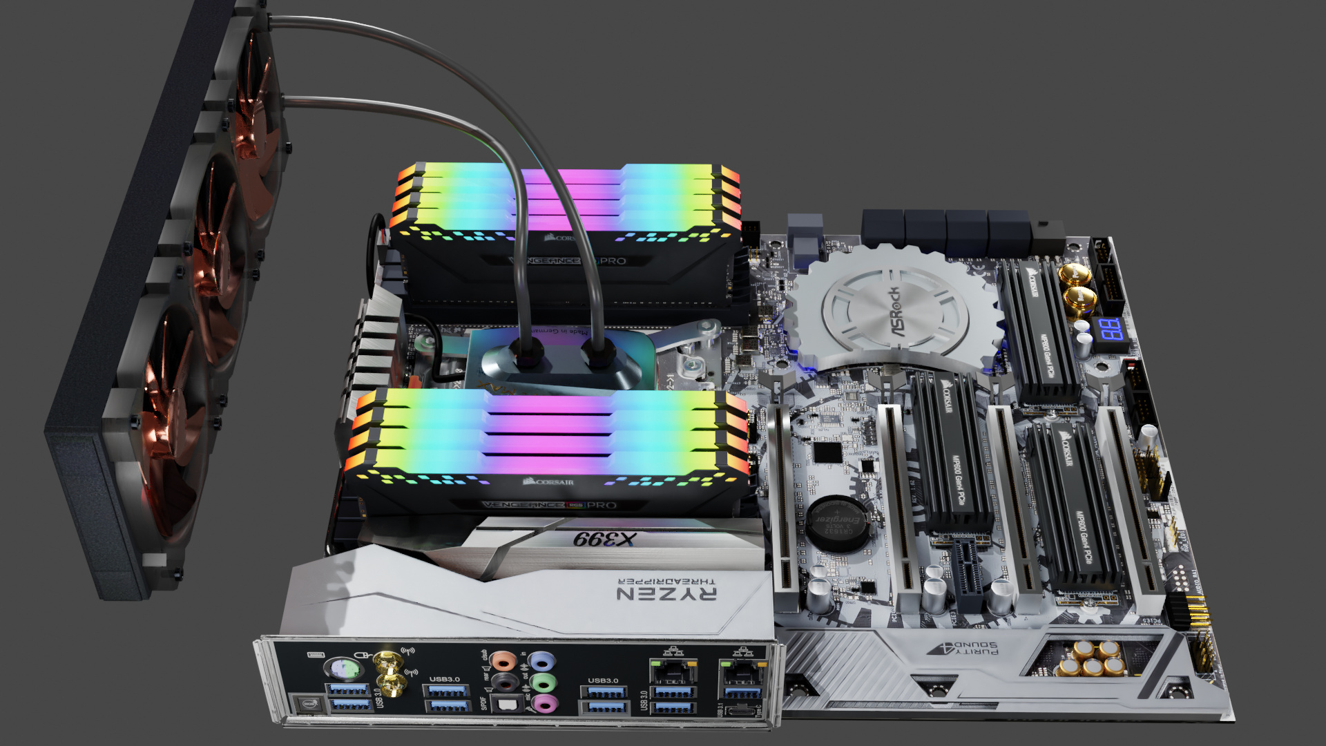 ASROCK X399 Taichi, the Beast - Finished Projects - Blender