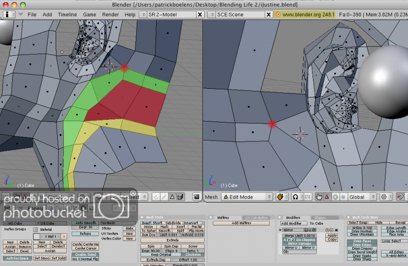 Removing a pole in head topology - totally lost! - Modeling