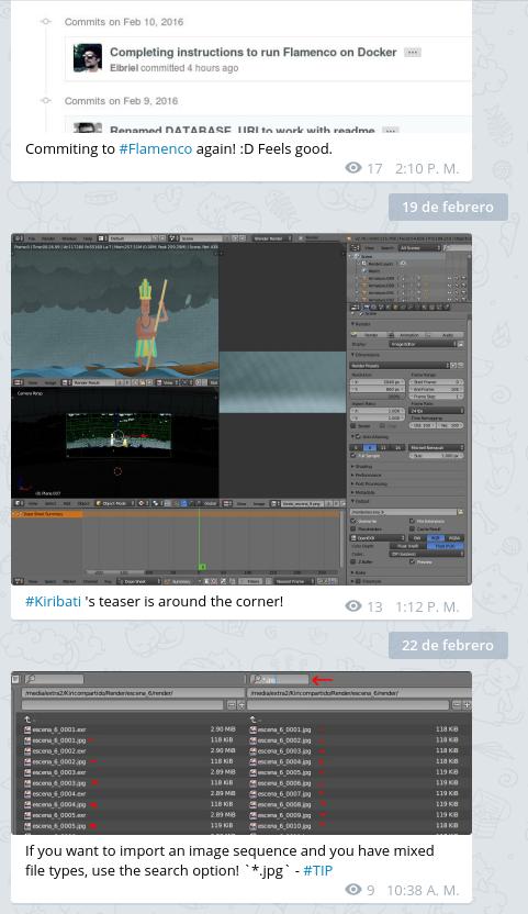 My Blender Telegram Channel - Blender and CG Discussions - Blender