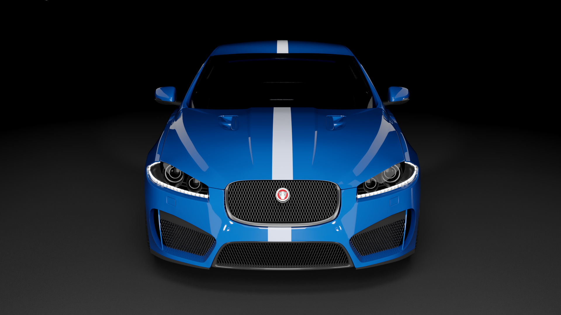 Lighting Of A Jaguar Xfrs Focused Critiques Blender Artists