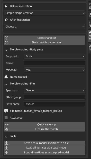 simple_morph_creation