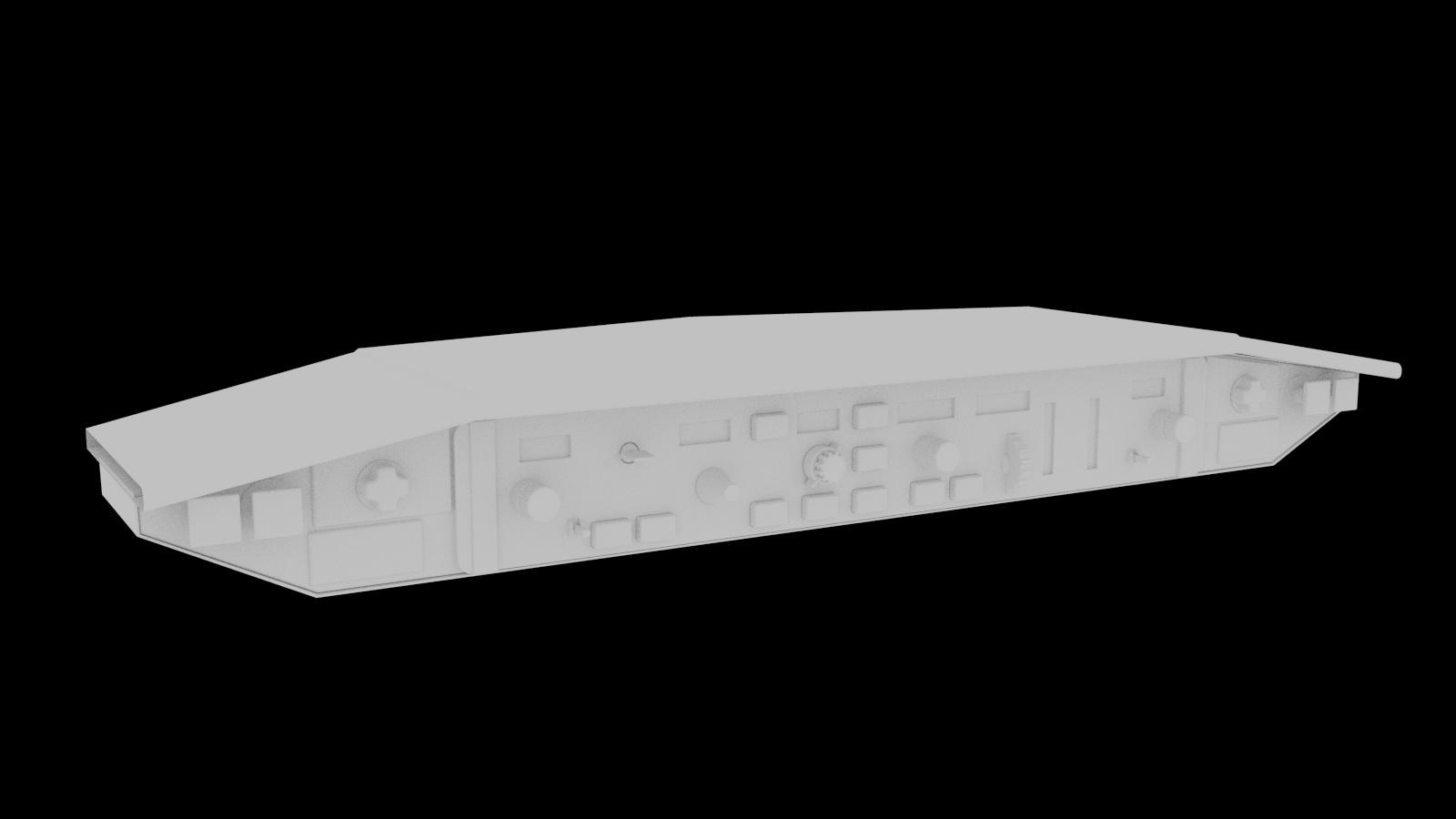 Boeing 737-300 Cockpit Project - Works in Progress - Blender