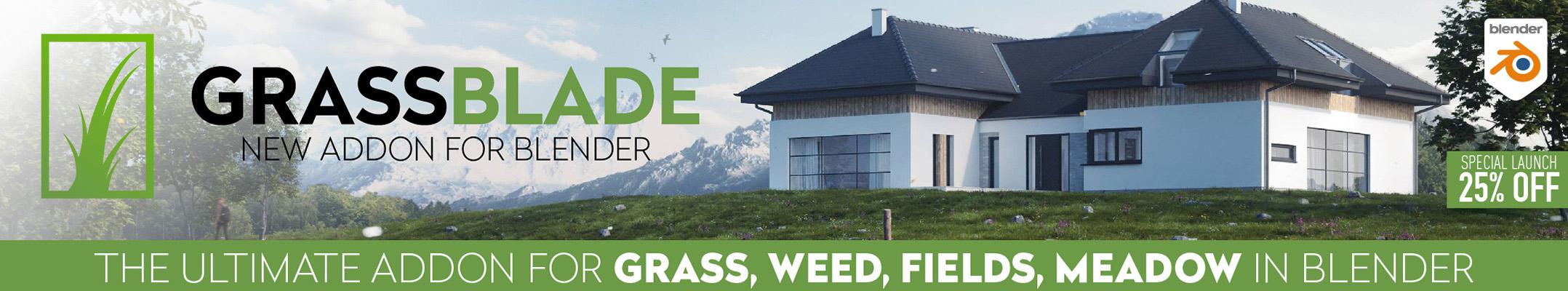 grassblade_blender_addon blenderartist