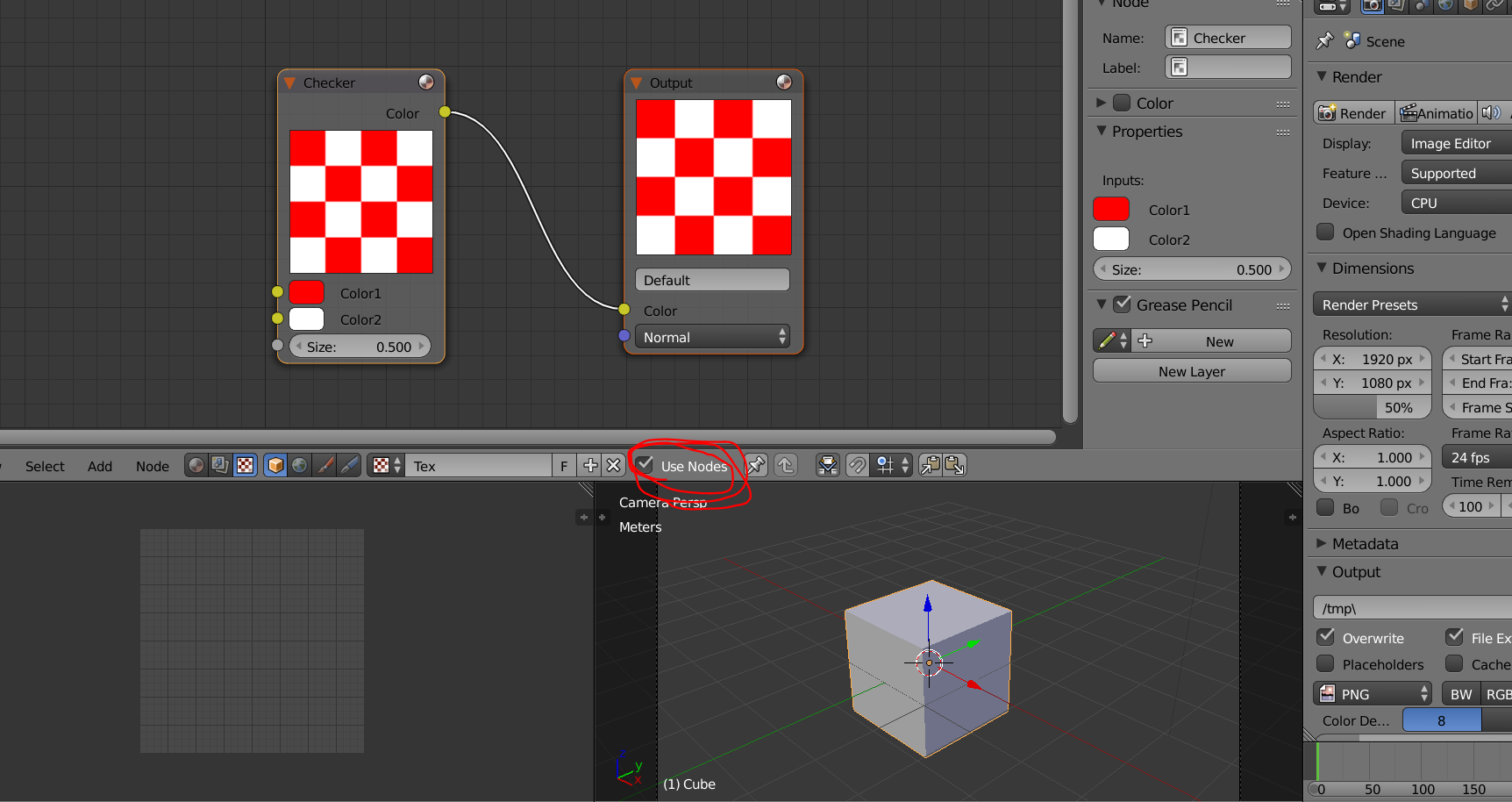 how do i get to use the node editor with my displacement modifier