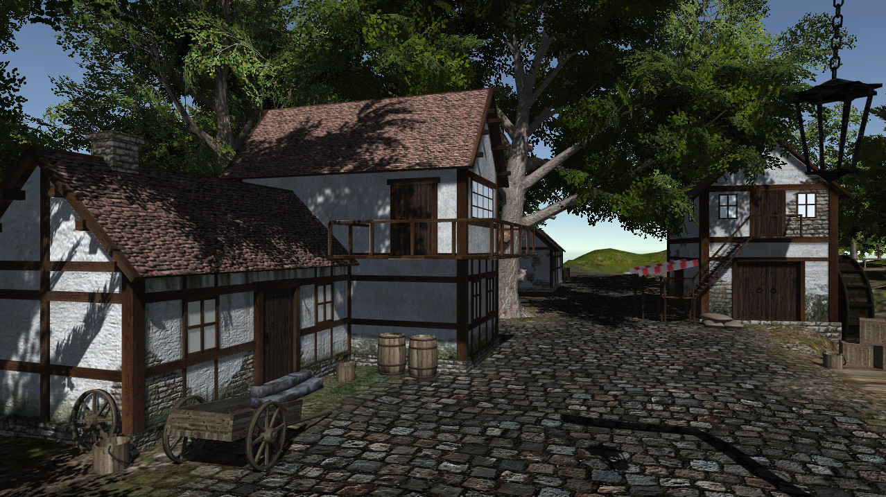 Unity 3D Medieval Pack (Finished Project) - Finished Projects