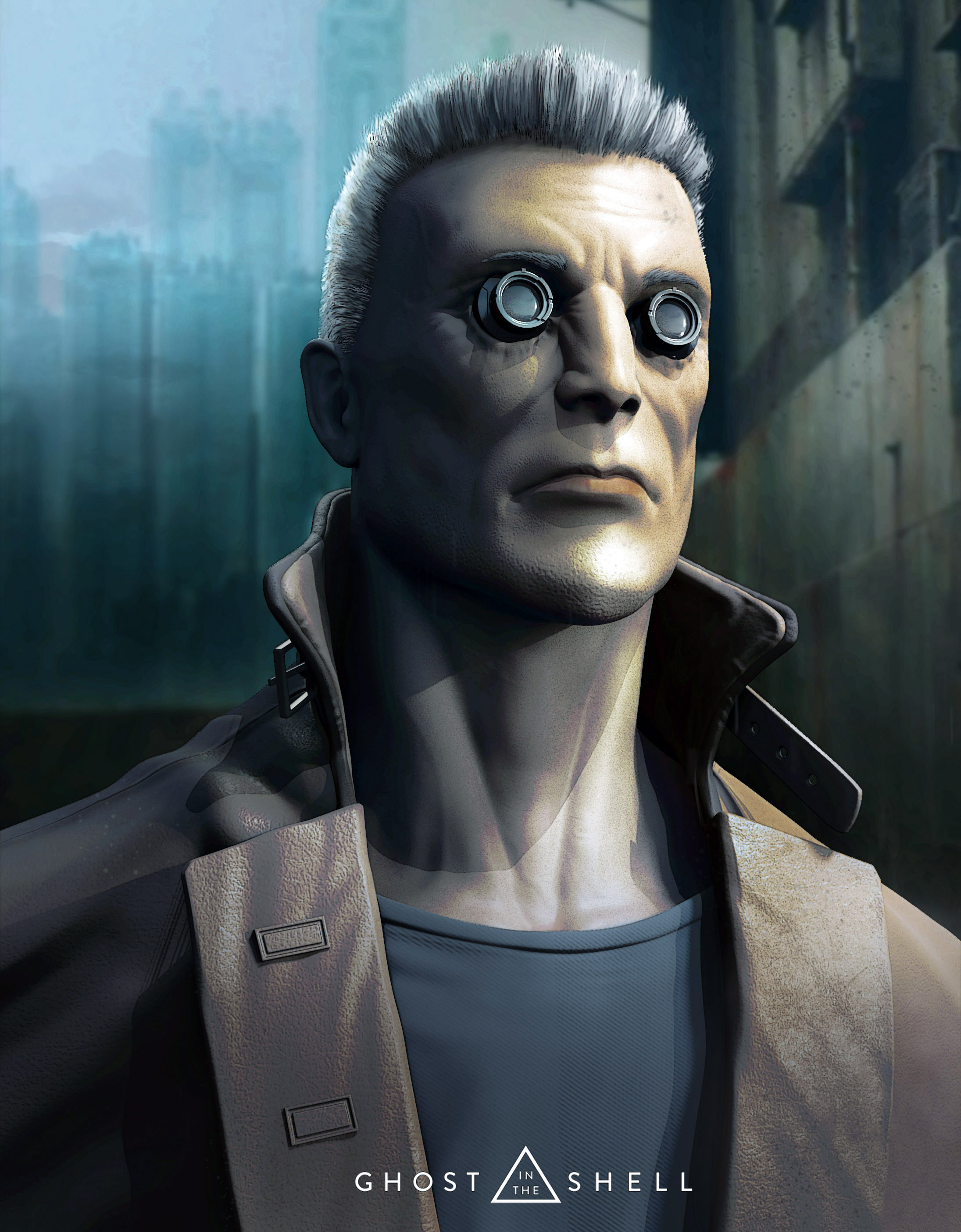 Batou Finished Projects Blender Artists Community