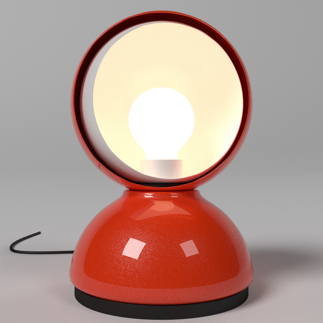 Eclisse table lamp finished projects blender artists community aloadofball Image collections