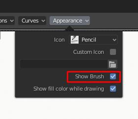 Grease Pencil - Keeping Cursor While Drawing - Blender 2 8
