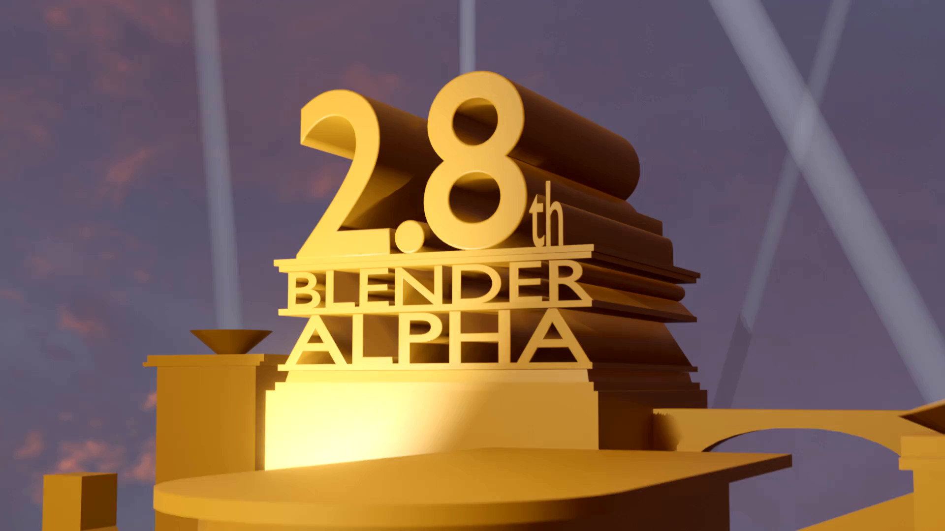 Video 20th Century Fox Intro In Blender 28 Finished Projects