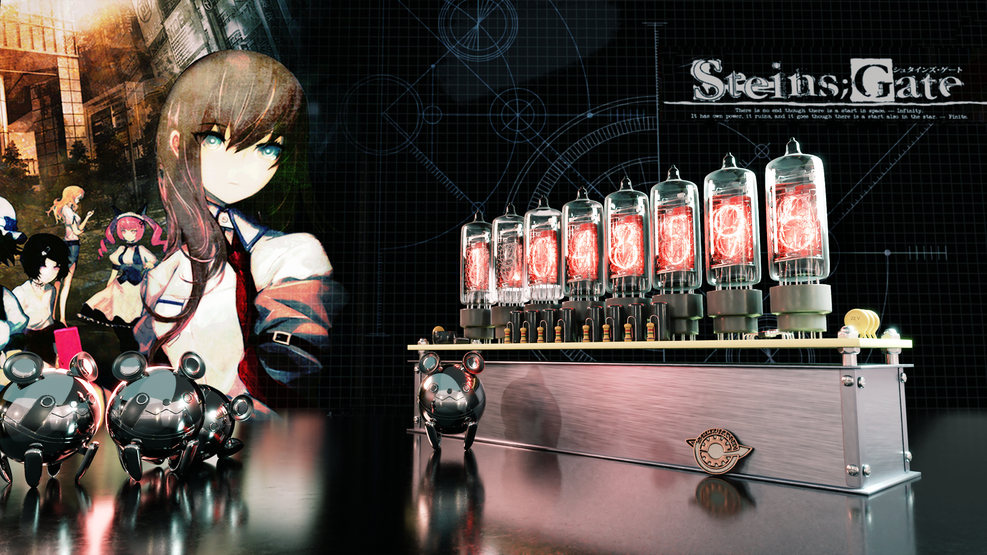 Steins Gate Divergence Meter Finished Projects Blender Artists Community