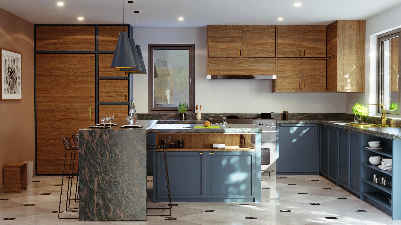 Arch Viz Modern Kitchen Nearly Getting Photoreal Focused