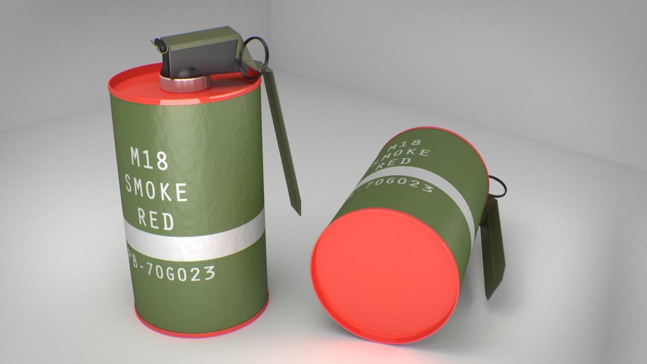 M18 Smoke Grenade - Focused Critiques - Blender Artists