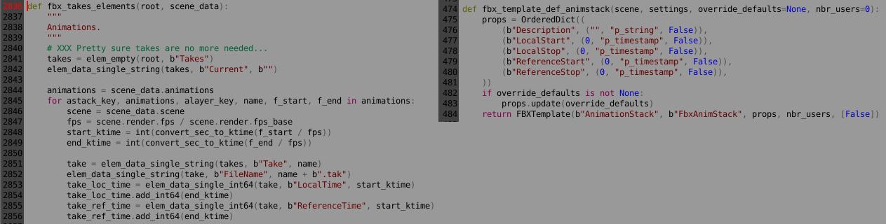 FBX export scene with multitake - Python Support - Blender Artists