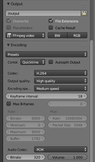 keyframe interval blender