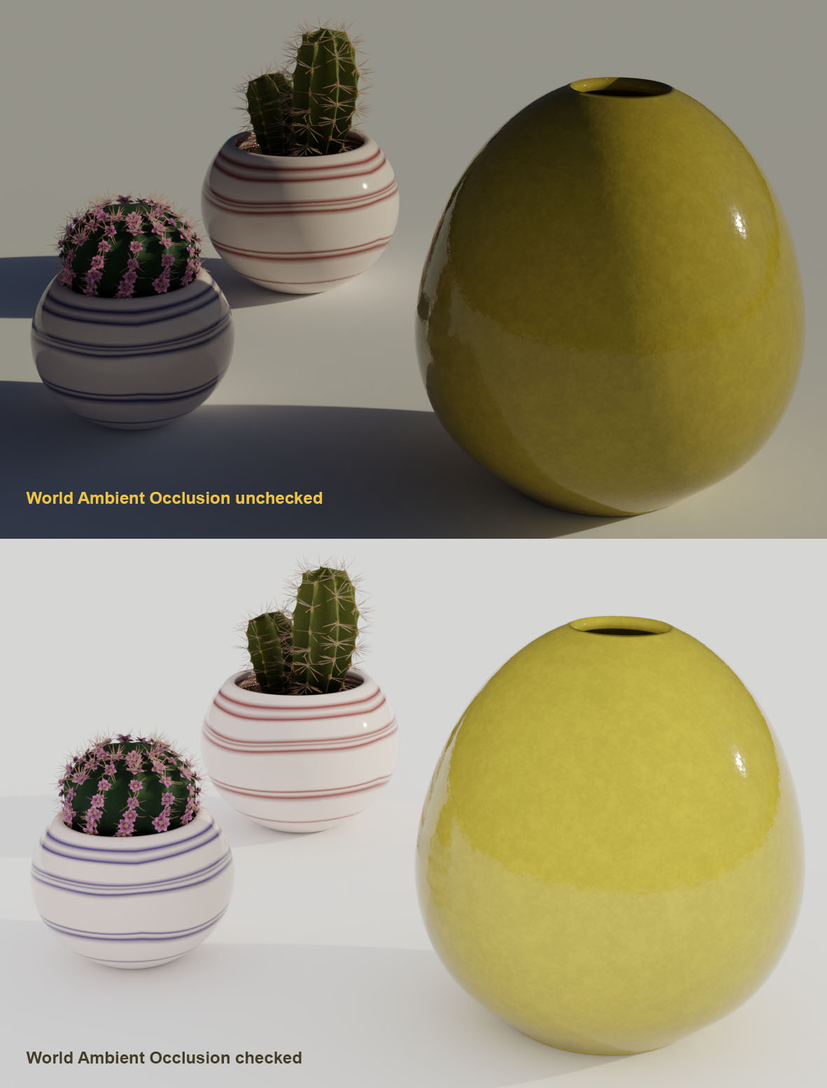 Ambient Occlusion.jpg1182x1555 126 KB & Help me understand the Ambient occlusion in World tab - Lighting and ...