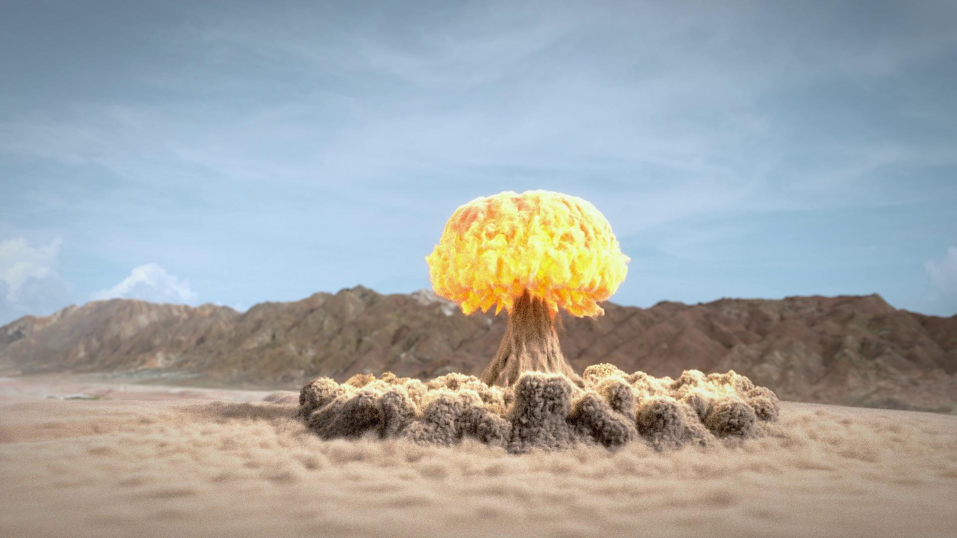 Фото или рисунок ядерного гриба