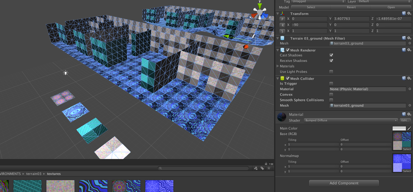Using normal maps in Unity (tiled) ? - Other Software