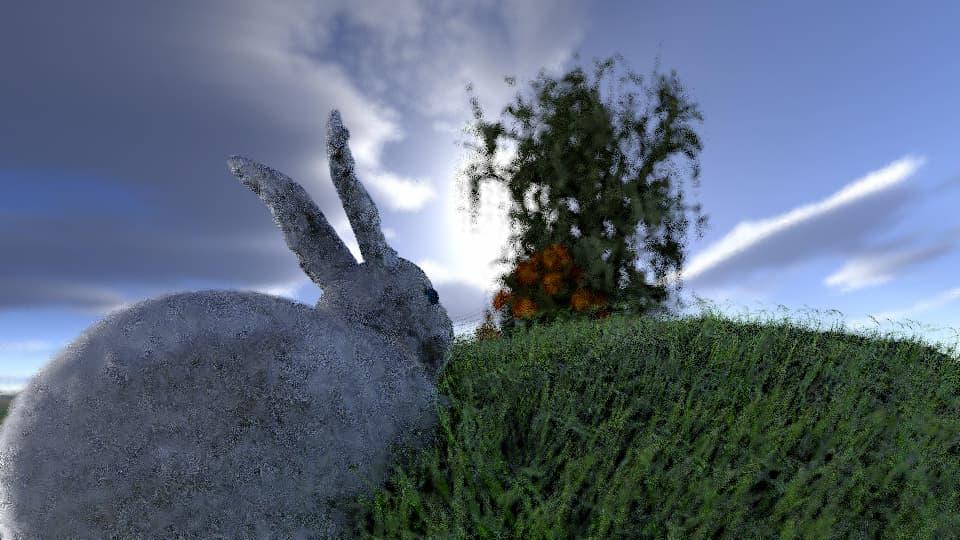 bunny hill DoF